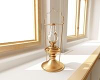 class oil lamp 3ds