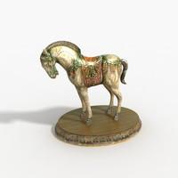 3dsmax horse decorations