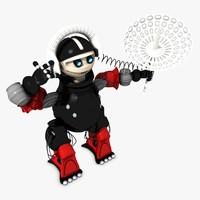 robot agent 3d model