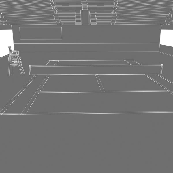 3d wimbledon tennis stadium model - Wimbledon Tennis Stadium... by virtualciti