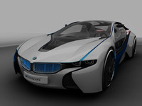 bmw efficient dynamics 3d model