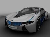 bmw efficient dynamics 3d model