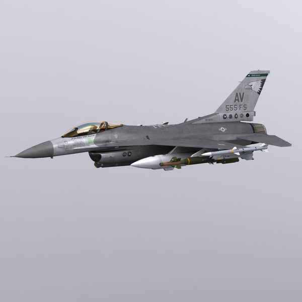 max general dynamics f-16 fighting falcon - F-16C Fighting Falcon Block 40... by file404