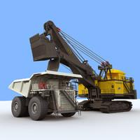 3dsmax mining vehicles 4100 xpc