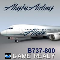B737-800 Alaska Airlines