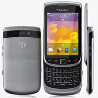 3d model copy blackberry 9810 torch