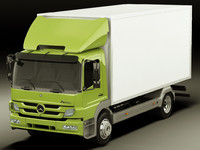 3ds max mercedes atego