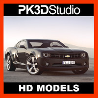 3ds max chevy camaro car
