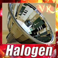 maya halogen lamp