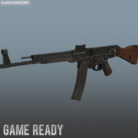 3d model mp44 games weapon