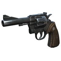 3d colt 357 revolver model