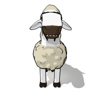 3d cartoons sheep