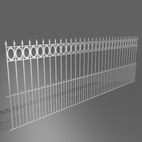 3dsmax fence
