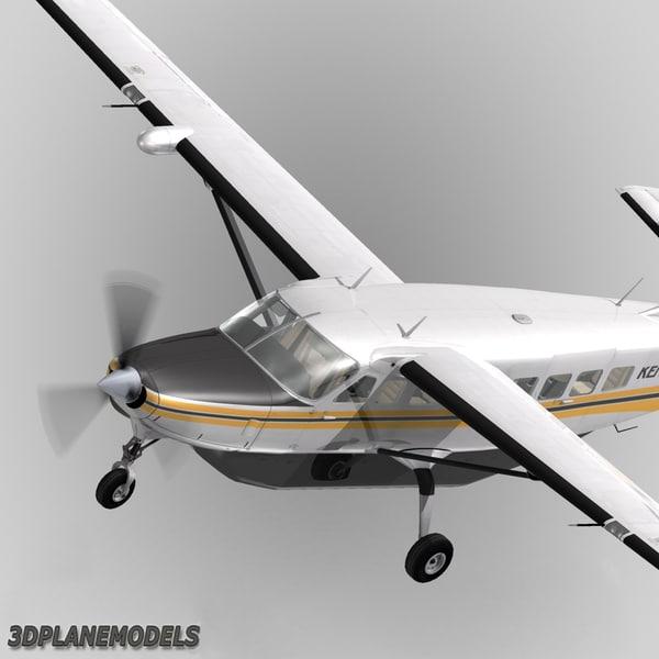 Used Turboprop: Cessna 208 Caravan Grand 3d Model
