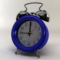 3d model materials clock