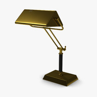 3d 3ds desk lamp