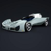 obj sports concept car