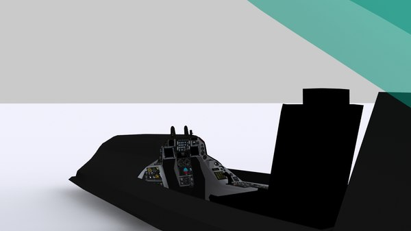 simulator f16 cockpit 3d model - F16 Cockpit... by 3DSIM Studio