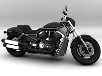 3d harley davidson night rod