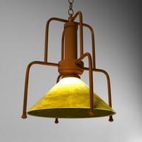 3dsmax pendant lamp
