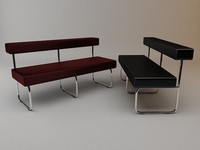 bench kurt muller 3d 3ds
