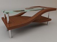 maya curves marcelo coffee table