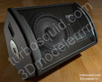Photorealistic stage monitor - Speaker