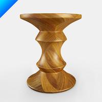 3d design stools vitra eames