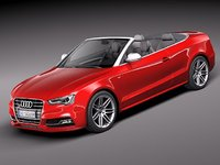 3ds max audi s5 convertible sport