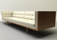 box sofa 3d model