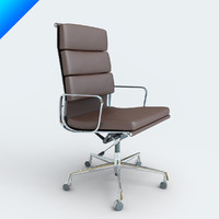 3d eames soft pad model