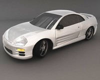 eclipse car 3d model