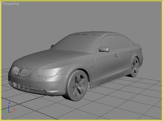 3d car rendering model - Car Modeling and Rendering Tutorial... by MPavlos