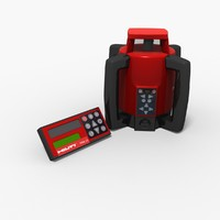 3ds max rotary laser hilti