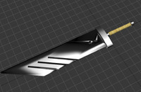 free buster sword 3d model