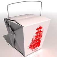 3d model of chinese box