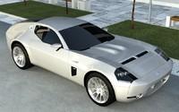shelby gr-1 car 3d max
