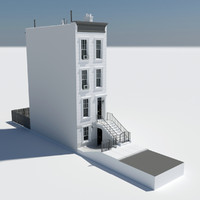 home street new york 3d model