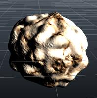 comet 3d obj