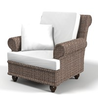 Dibor frrench rustic rattan chair traditional outdoor country style classic wicker