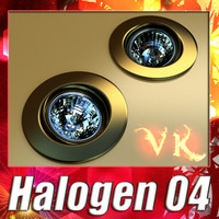 Halogen Lamp 04