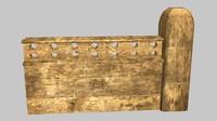 3d model wall iraq module