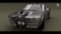 3ds max eleanor gt 500 1967