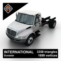 3d international durastar truck chassis