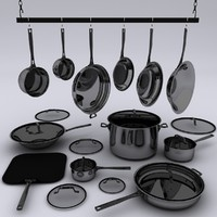 3ds max frying pans sauce