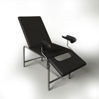 gynecology chair hospitals c4d