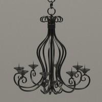 3d chandelier model