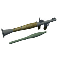 3d model rocket propelled gernade r