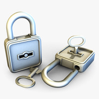 padlock key details dwg