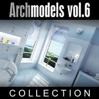 3d archmodels vol 6 toilets model